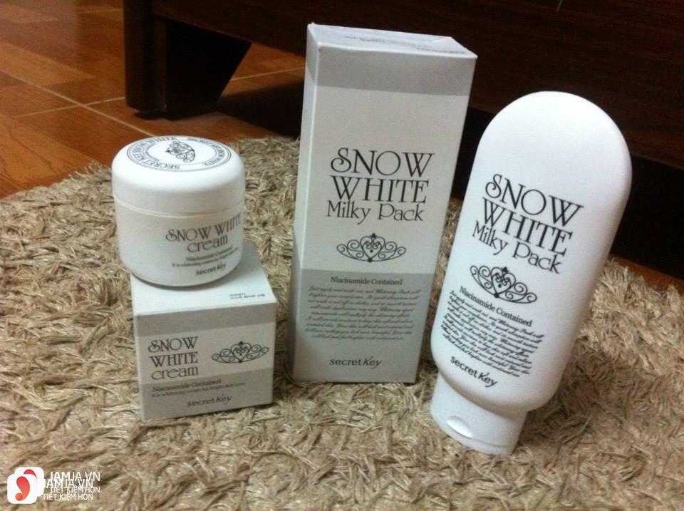 Thành phần củaSnow White Milky Pack