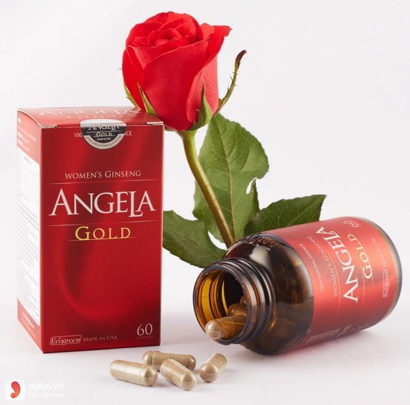 Thành phần của sâmSâm Angela Gold 1