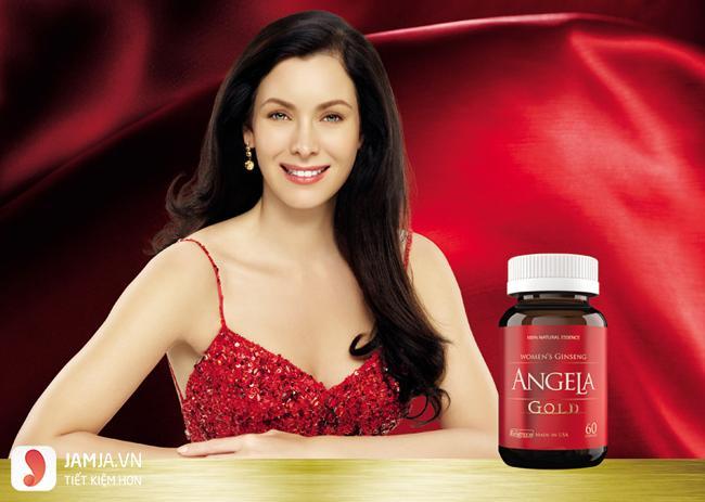 Thành phần của sâmSâm Angela Gold