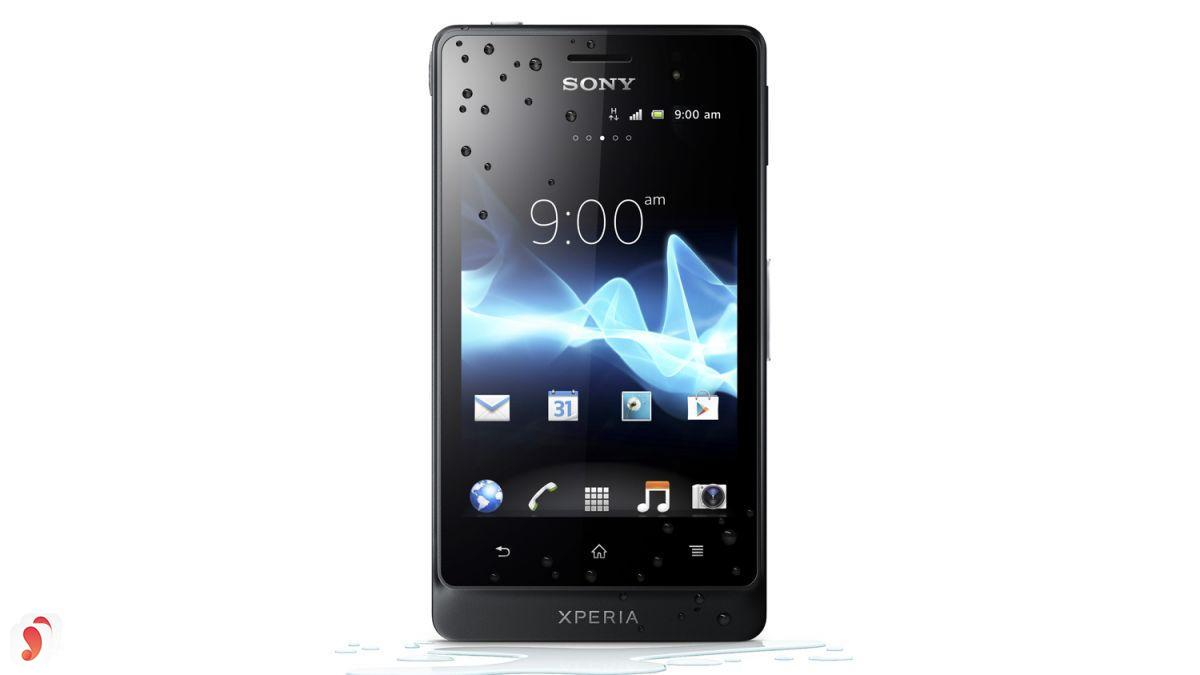 thiết kế Sony Xperia Go