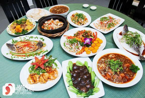 Thực đơn nhà Hàng Hoa Khôi Việt