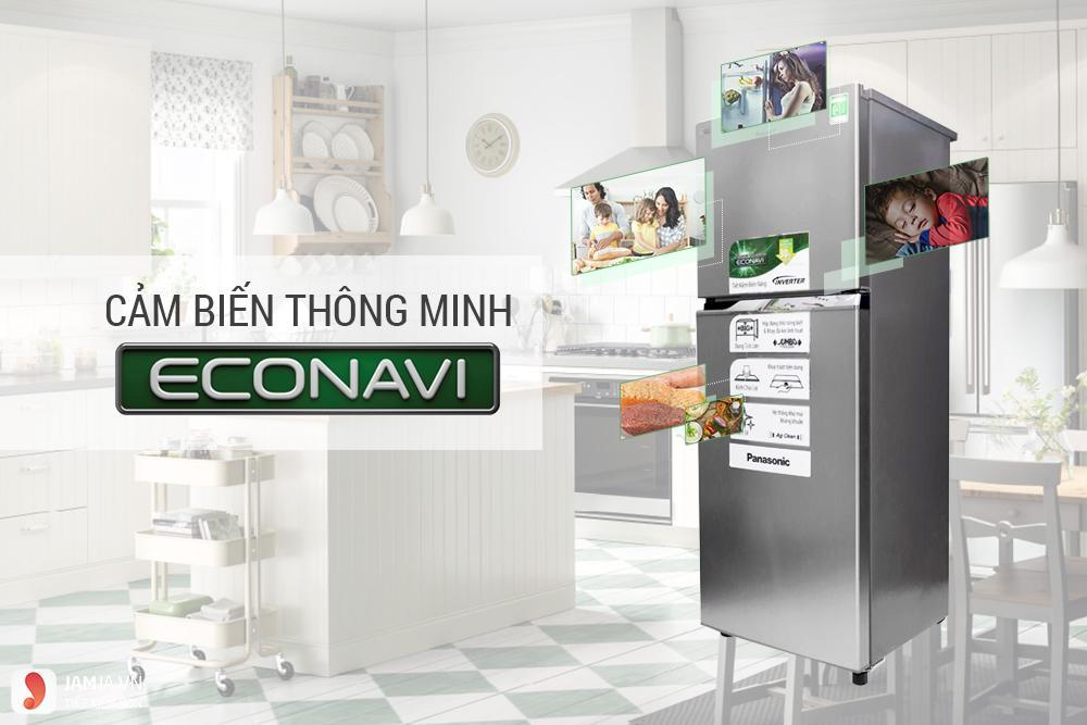 Tủ Lạnh Inverter Panasonic NR-BL267VSV1 (234 lít)