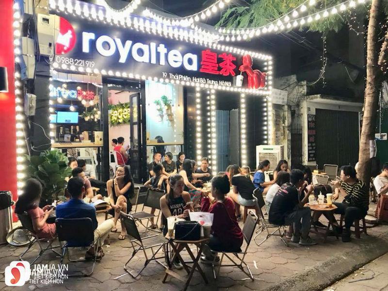 Trà sữa Royaltea - Thái Phiên 1