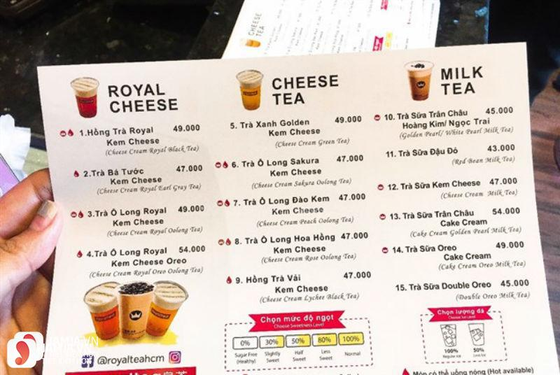 Trà sữa Royaltea - Thái Phiên 6