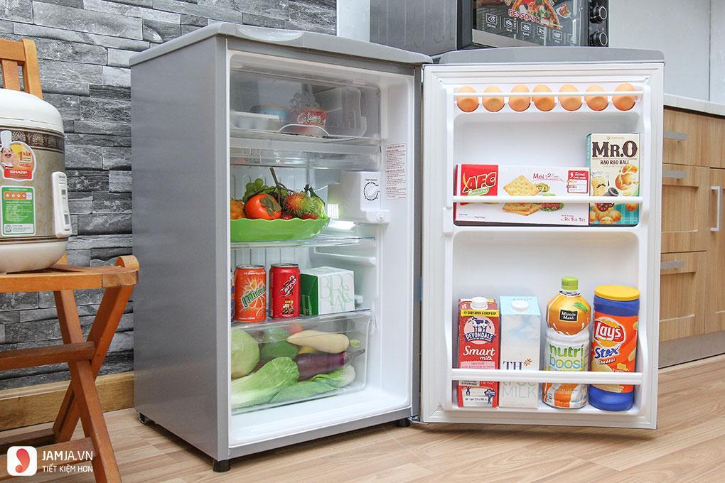 Tủ lạnh Aqua AQR - 95AR(SS) 90L (Bạc)