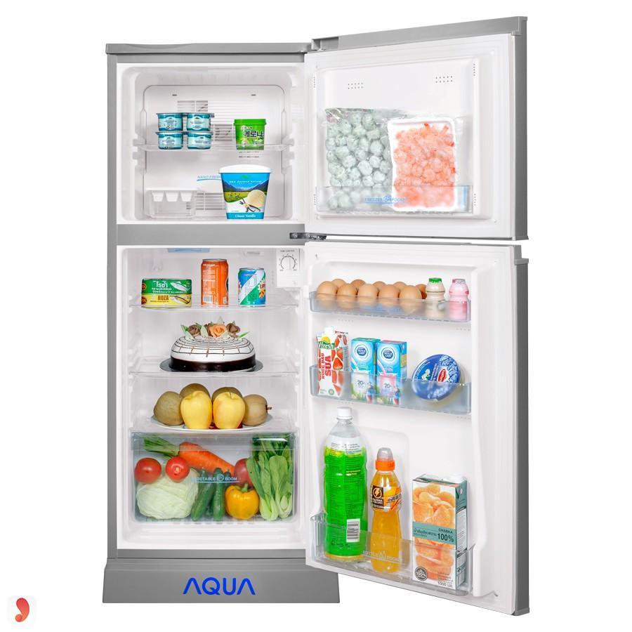 Tủ Lạnh Aqua AQR-145BN-SS (130L) Bạc