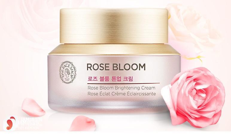 Kem dưỡng trắng Rose Bloom Brightening Cream 1
