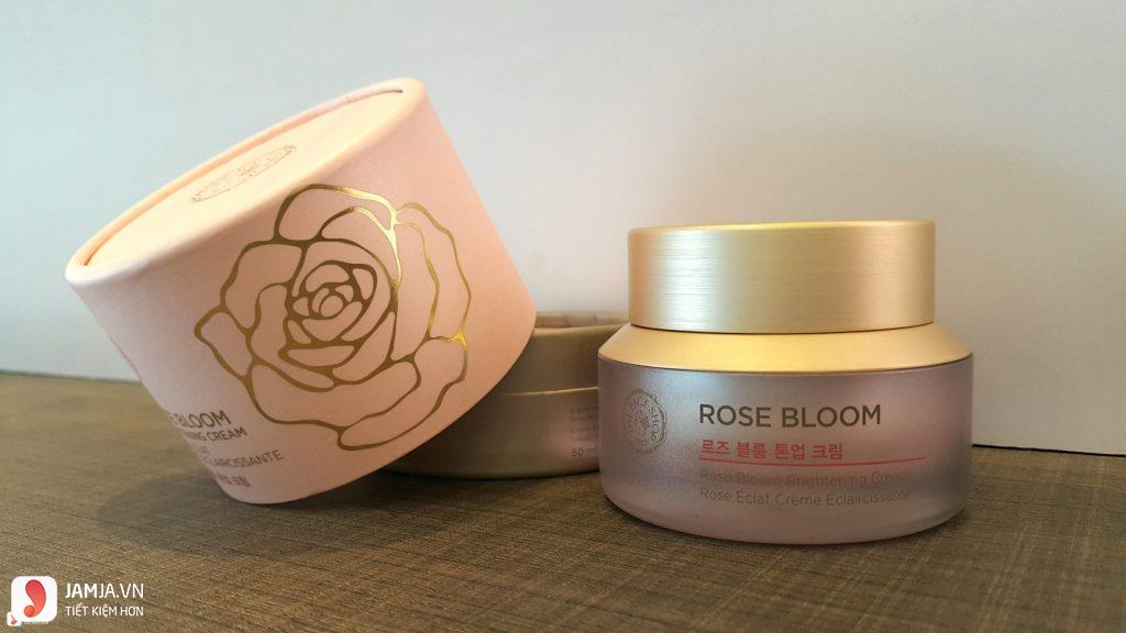 Kem dưỡng trắng Rose Bloom Brightening Cream