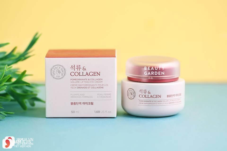 Kem dưỡng trắng da Pomegranate And Collagen Volume Lifting Cream