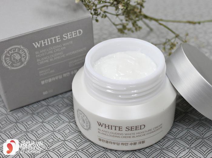 Kem dưỡng trắng da White Seed Blanclouding Moisture Cream