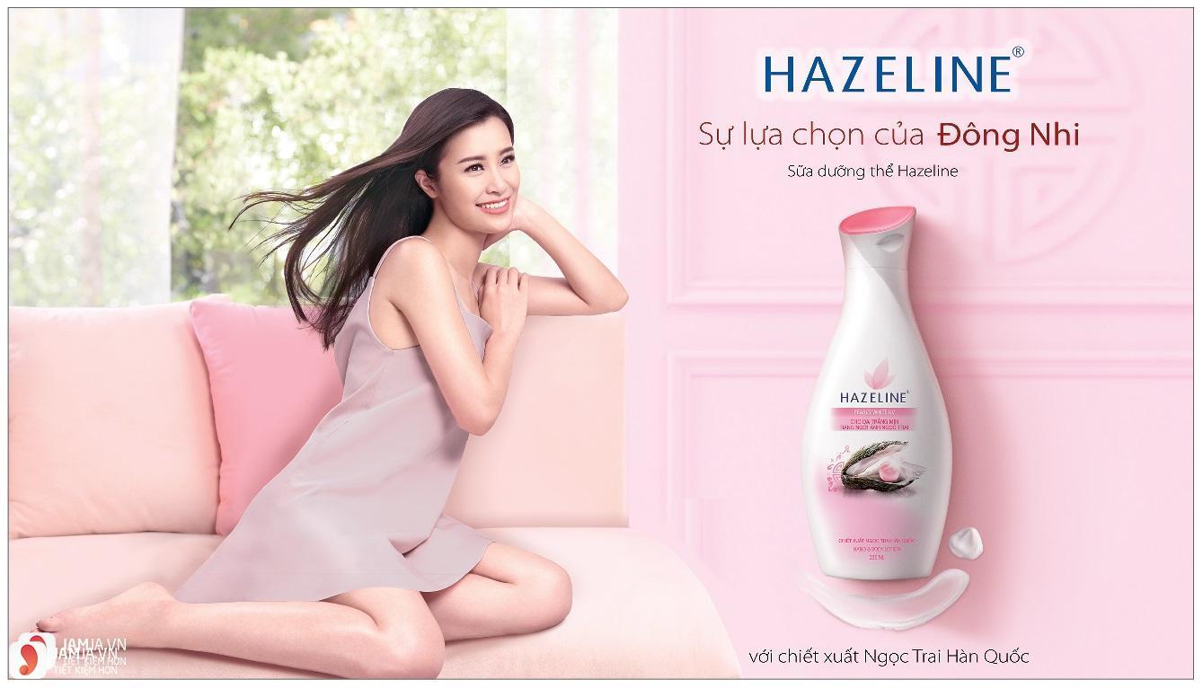 Kem dưỡng trắng da toàn thân Hazeline với chiết xuất ngọc trai Hàn Quốc 1