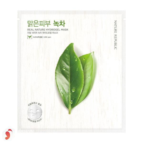 7. Nature Republic Real Nature Green Tea HydroGel Mask