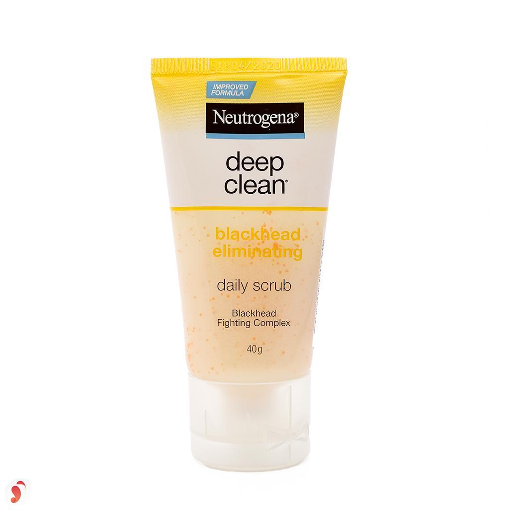 Sữa rửa mặt Neutrogena Deep Clean Blackhead Eliminating Daily Scrub 1