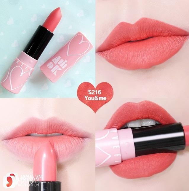 Son Amok Luxury Lovefit Lipstick 3