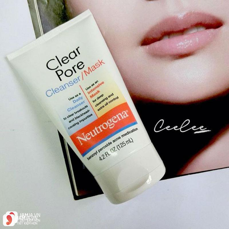 Neutrogena Clear Pore Cleanser Mask 3