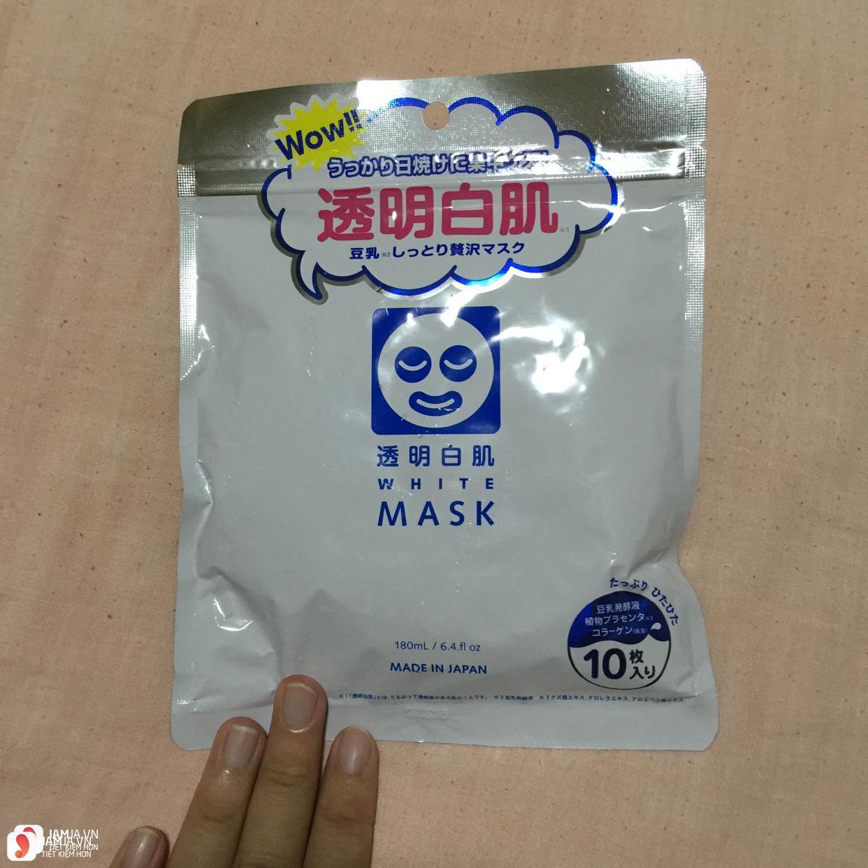 Toumei Shirohada White Mask 1