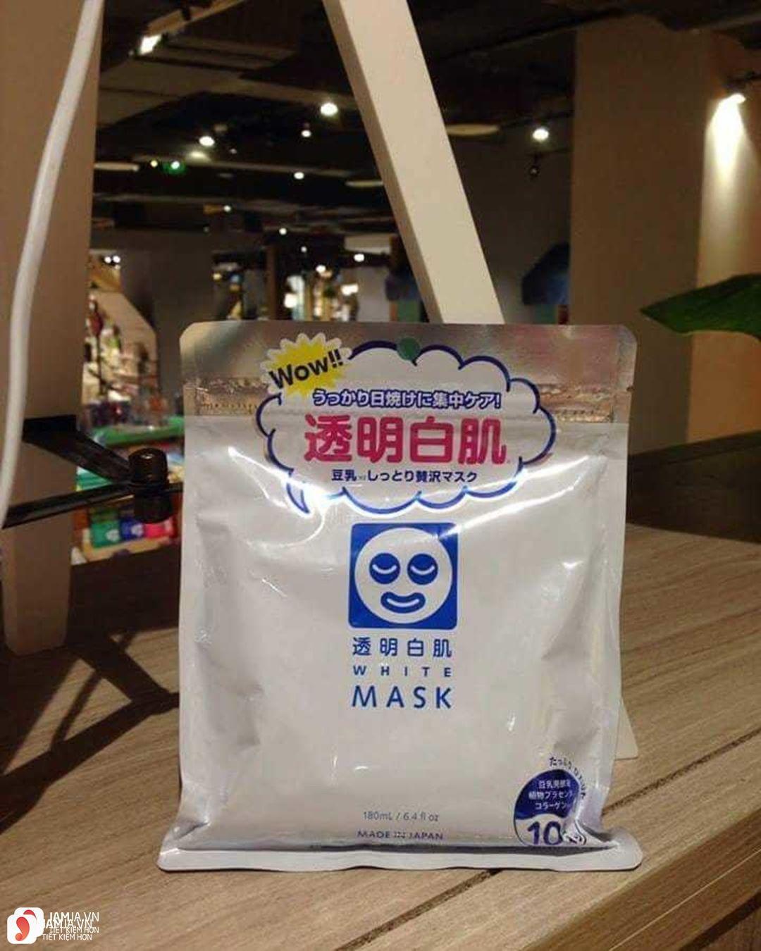 Toumei Shirohada White Mask 2
