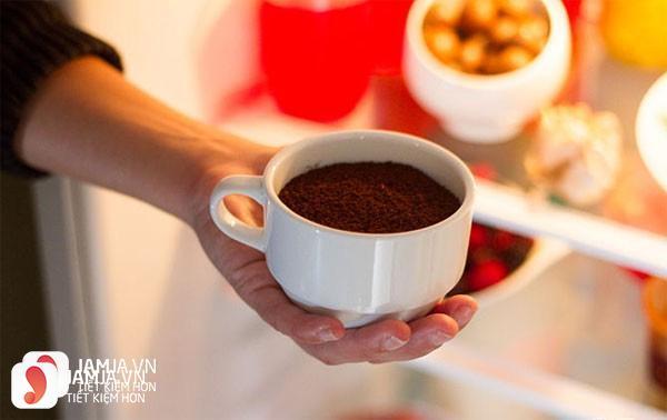 Bã cà phê khử mùi phòng, mùi hôi cực hiệu quả