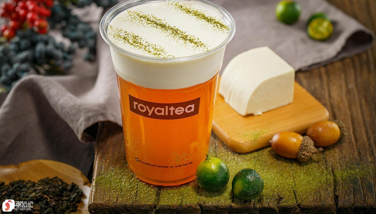 Các loại thức uống hoàng gia củaRoyaltea 1