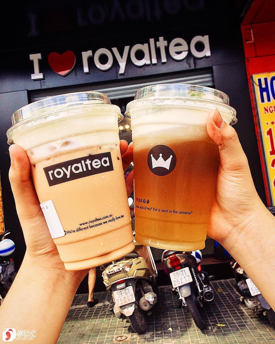 Các loại thức uống hoàng gia củaRoyaltea 4