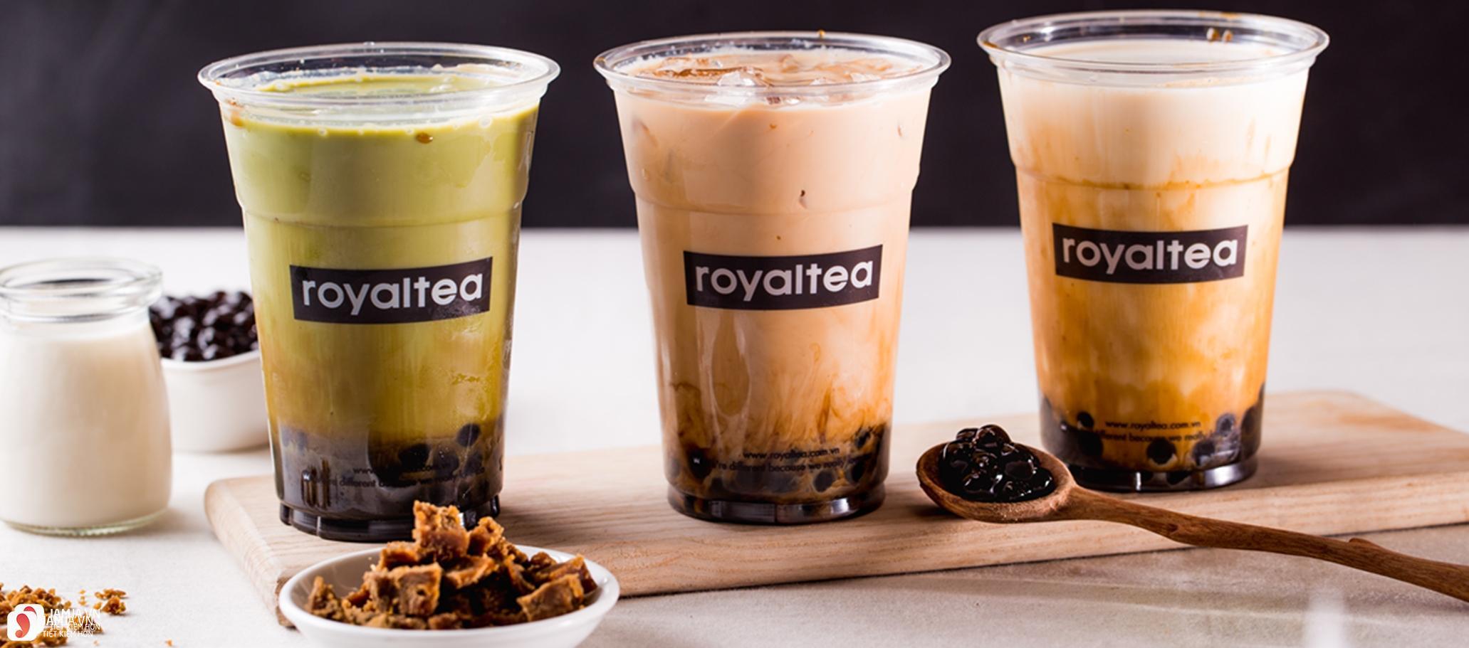 Các loại thức uống hoàng gia củaRoyaltea 5