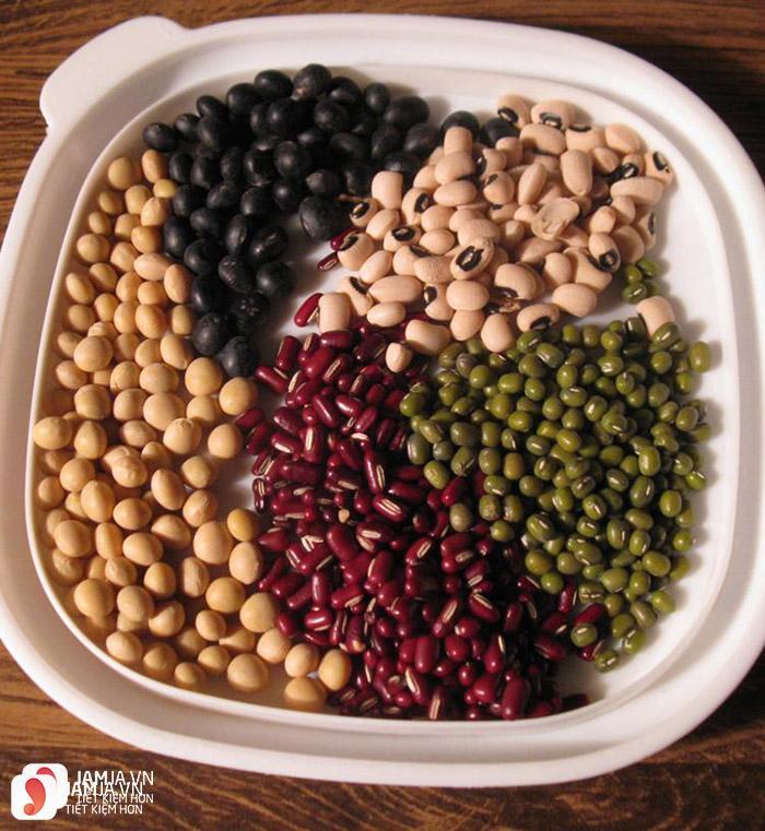 Cách làm bột ngũ cốc từ đậu1