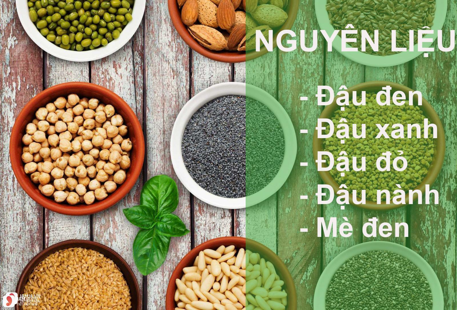 Cách làm bột ngũ cốc từ đậu