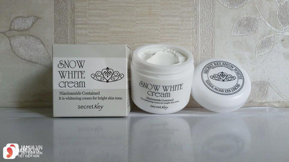 Cách sử dụng Snow White Cream
