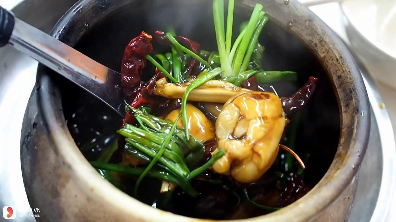 Địa điểm ăn uống siêu ngon, không thể bỏ qua ở quận Tân Phú (Cháo ếch Ú)
