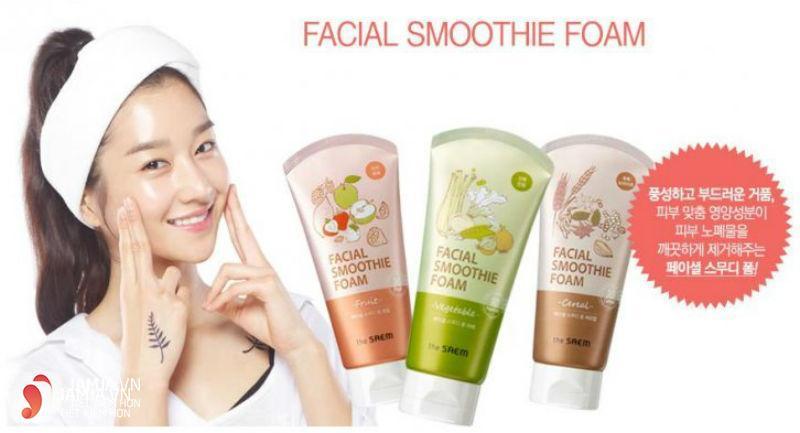 Sữa rửa mặt Facial Smoothie Foam Vegetable 1