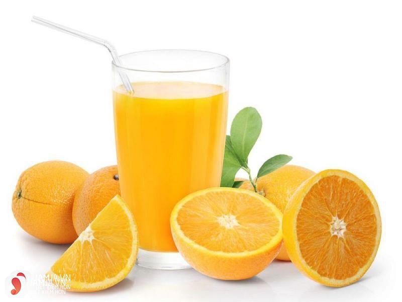 Giá trị dinh dưỡng của cam