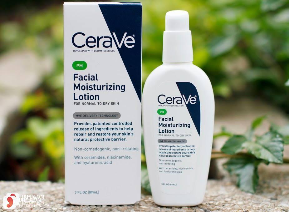 kem dưỡng ẩm CeraVe Moisturizing Lotion 3