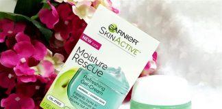 kem dưỡng ẩm Garnier Moisture Rescue Refreshing Gel-Cream dành cho da dầu có tốt không?