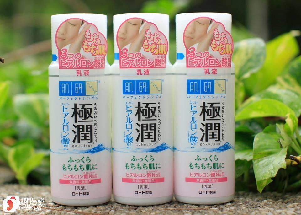 Kem dưỡng ẩm Hada Labo Super Hyaluronic Acid Hydrating Lotion Light 3