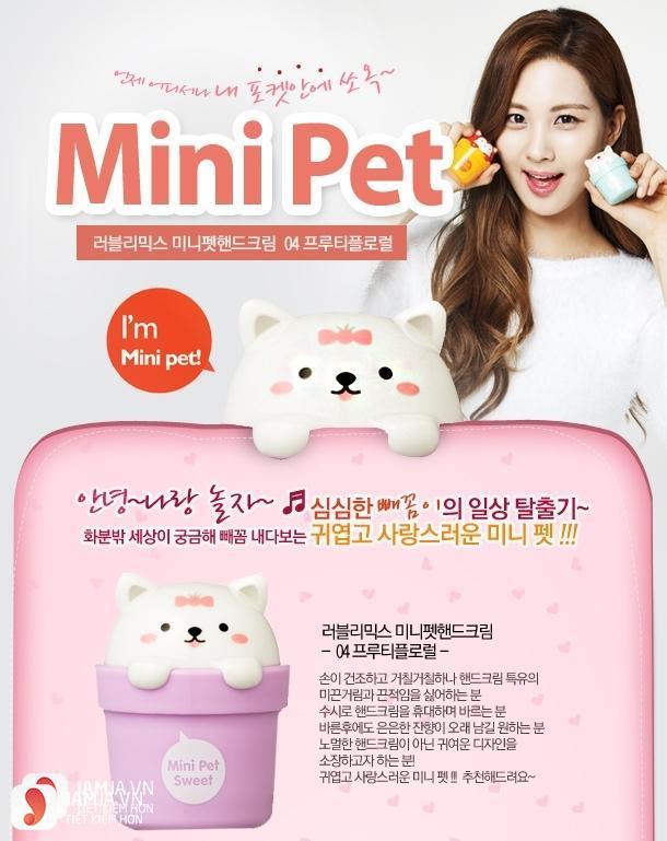 Kem dưỡng da tay The Face Shop Mini Pet Sweet