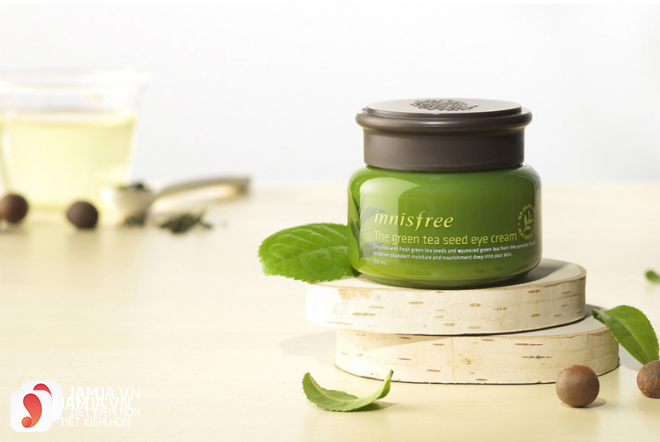 kem dưỡng mắt Innisfree The Green Tea Seed Eye Cream 1