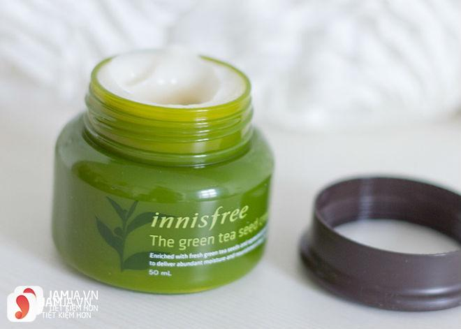 kem dưỡng mắt Innisfree The Green Tea Seed Eye Cream 2