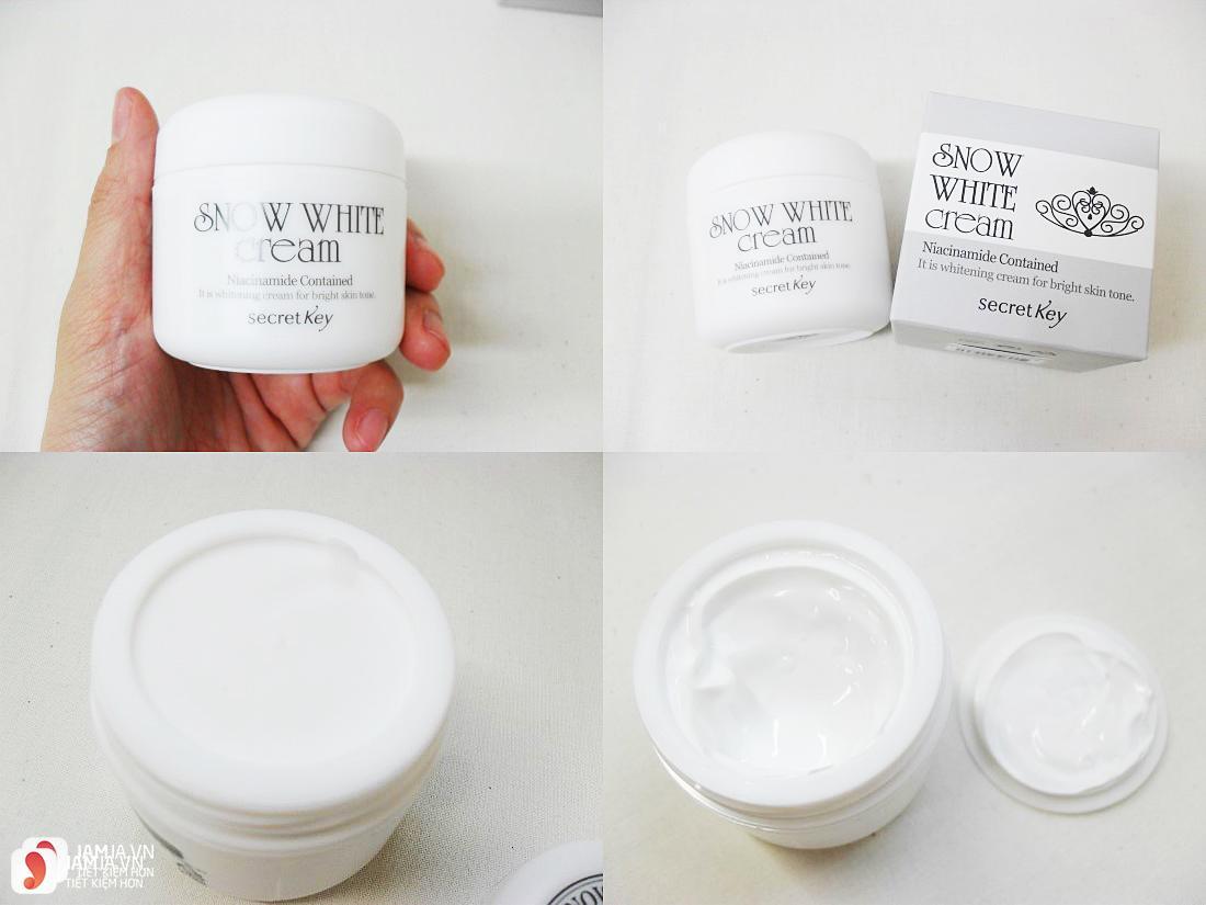 kem dưỡng trắng da Snow White Cream 1