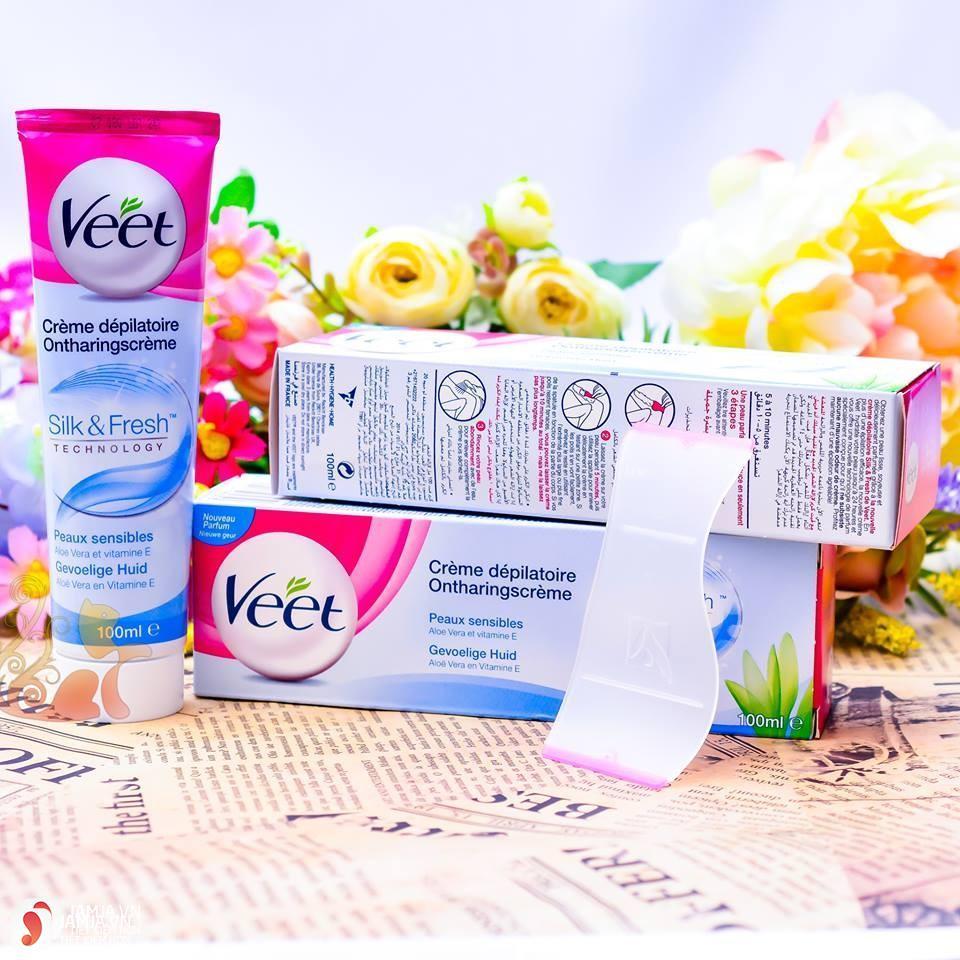 Kem tẩy lôngVeet Hair Removal Cream Silk & Fresh giá bao nhiêu 1
