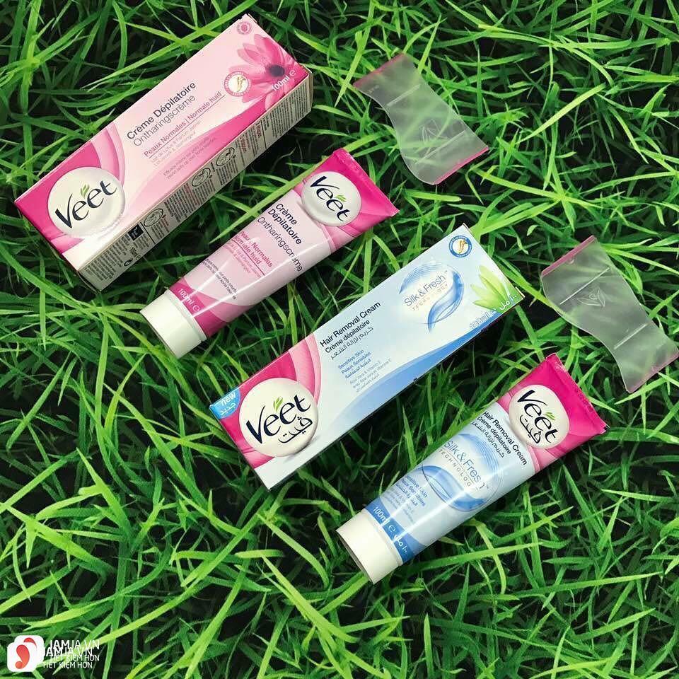 Mua kem tẩy lông Veet Hair Removal Cream Silk & Fresh ở đâu 2