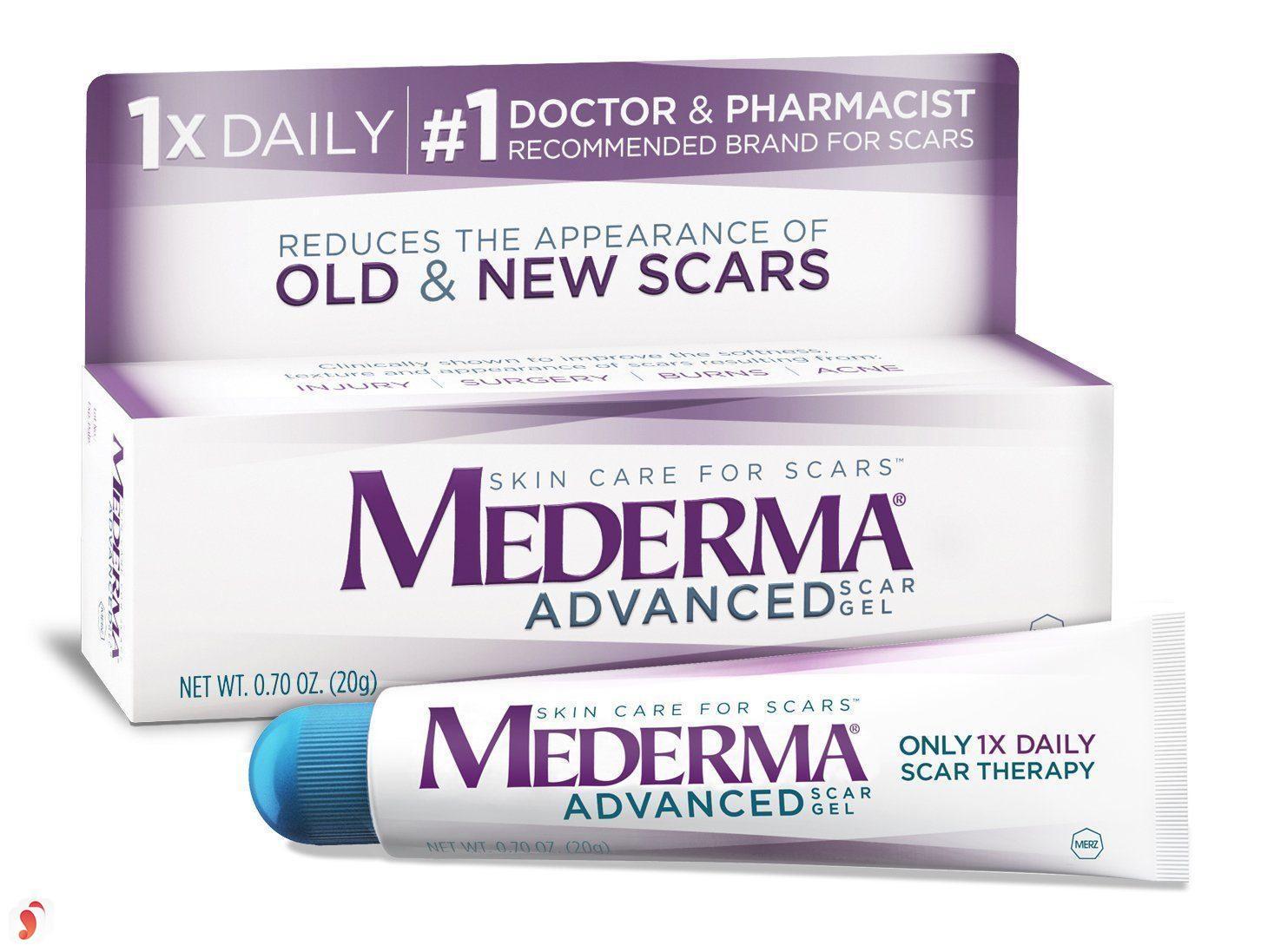 kem trị sẹo lồi Mederma Advanced Scar Gel 1