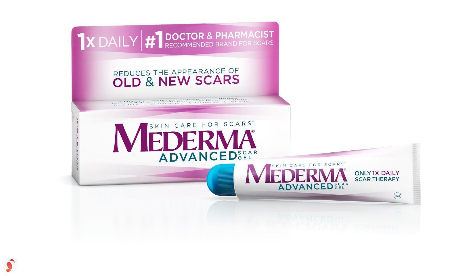 kem trị sẹo lồi Mederma Advanced Scar Gel 2