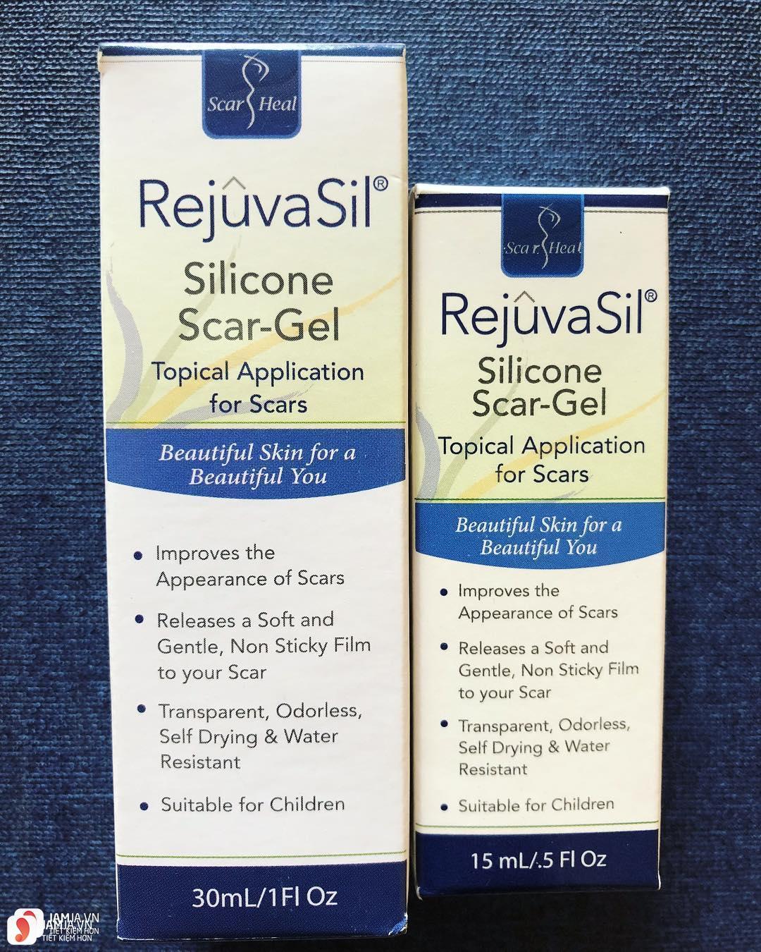 kem trị sẹo lồi Rejuvasil Scar Gel 2