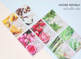 mặt nạ Nature Republic Real Nature Mask Sheet chính hãng