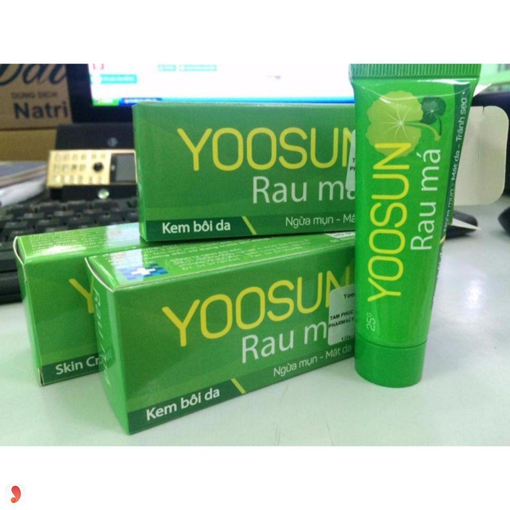 mua kem trị mụn rau má Yoosun ở đâu?