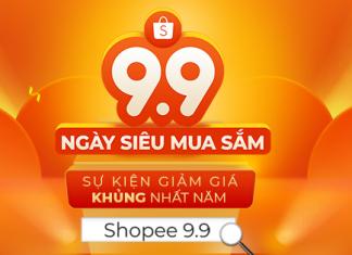 Ngày siêu mua sắm Shopee 9.9