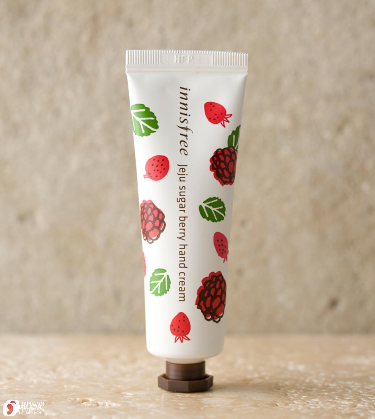 Review chi tiết kem dưỡng da tay Innisfree Jeju Hand Cream 12