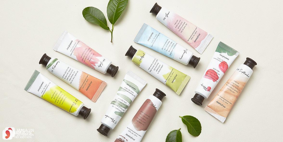 Review chi tiết kem dưỡng da tay Innisfree Jeju Life Perfumed Hand Cream 1