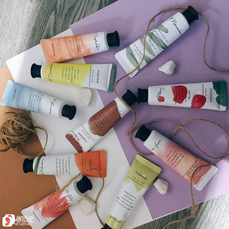 Review chi tiết kem dưỡng da tay Innisfree Jeju Life Perfumed Hand Cream 4