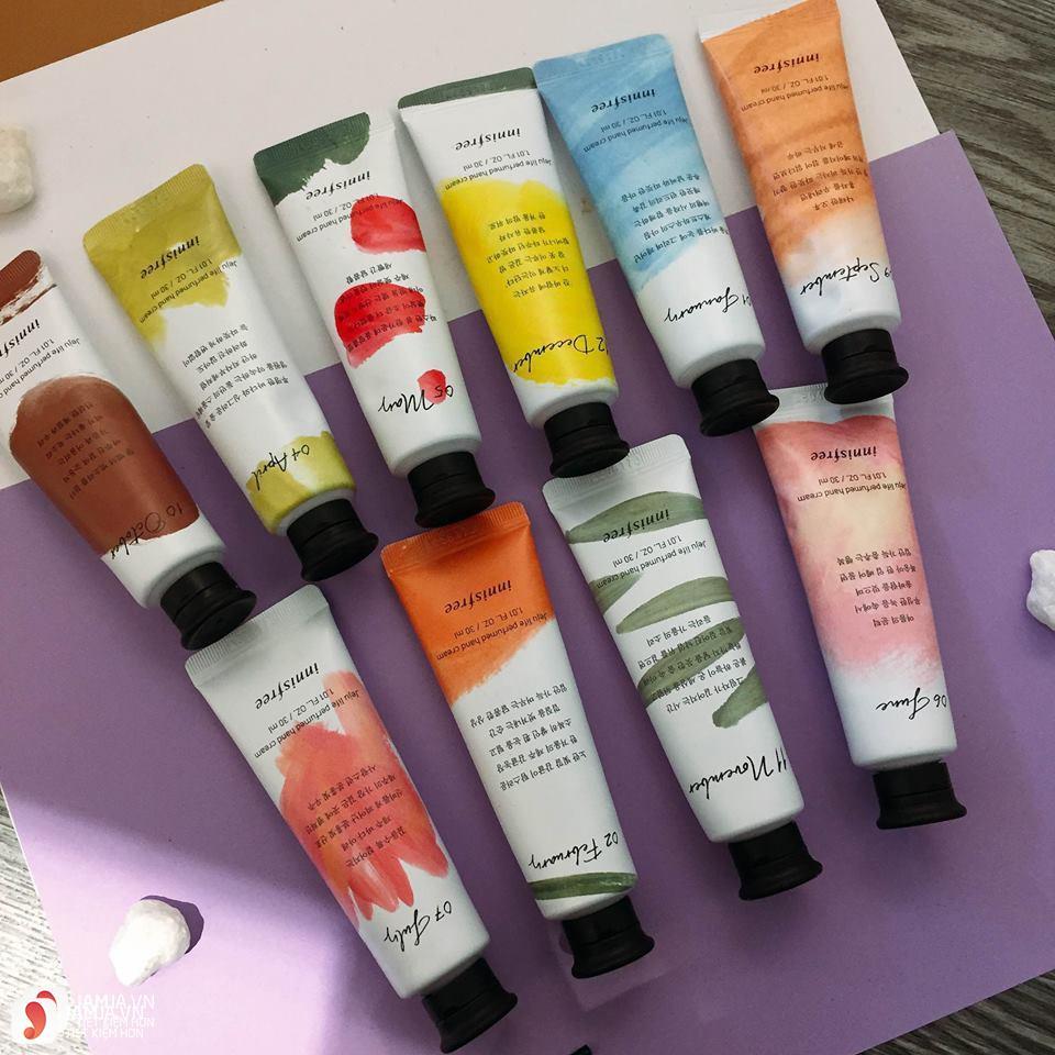 Review chi tiết kem dưỡng da tay Innisfree Jeju Life Perfumed Hand Cream 5